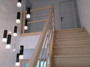 Garde-corps en verre de l'escalier GC104