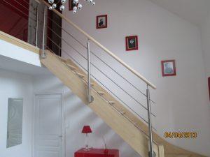 L'escalier modèle GC77 sur limons