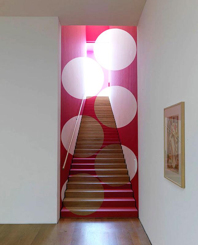 Créer une illusion d'optique avec un escalier