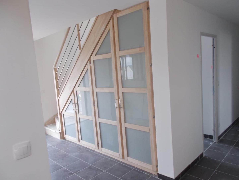 Creer Un Meuble Sous Escalier placard sous escalier, dressing, aménagement et rangement