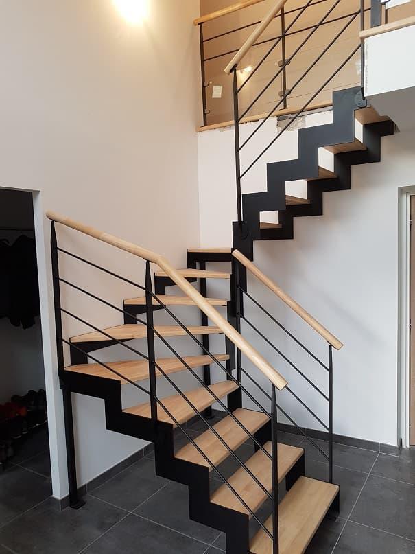Escalier acier, escalier fer, escalier métal, inox, Lille, Arras ...